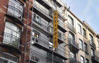 peinture extérieure façade immeuble