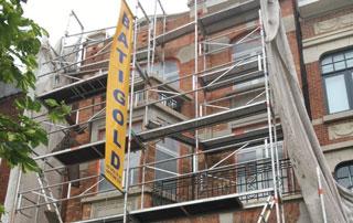 travaux de façade immeuble par Batigold
