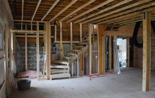 réalisation escalier en bois