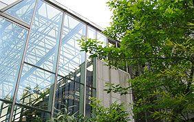 Bâtiment vitré de Nivelles