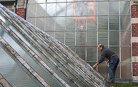 nettoyage toiture vitrée