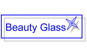 Logo bleu Beauty Glass