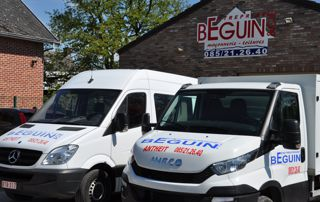 camionnettes toitures beguin