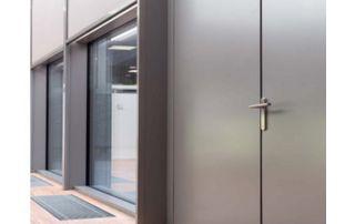 porte extérieure aluminium