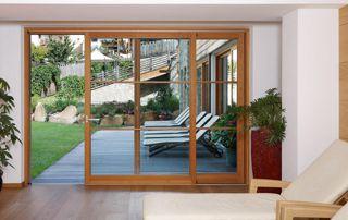 porte en bois de terrasse