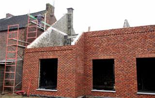 construction de maison à Nivelles