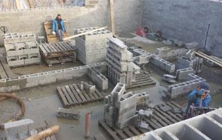 travaux de maçonnerie et fondations