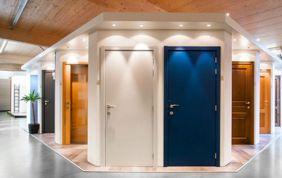 showroom portes colorées