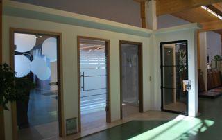 showroom portes vitrées