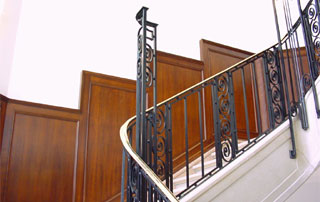 lambris escaliers