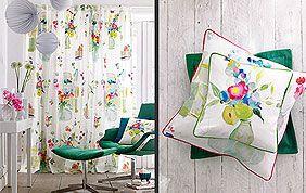 décoration motifs floraux