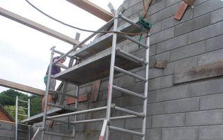 travaux de construction à Namur