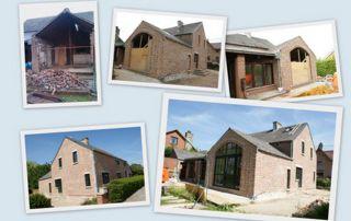 réalisations de travaux de transformation et rénovation