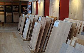showroom parquets en bois