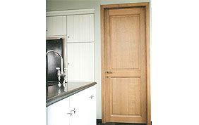 porte intérieure cuisine en bois