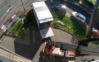 déménagement avec lift à Liège