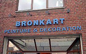 façade entreprise de peinture et décoration bronkart