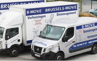 camions et camionnettes Brussels Move