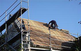 pose nouvelle couverture de toiture