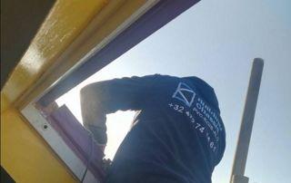 Installation fenêtre de toit