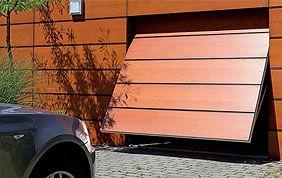 porte de garage basculante motorisés