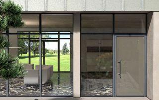profilés pvc : baie vitrée et porte coulissante