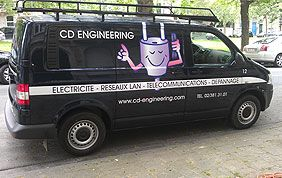 camionnette CD Engineering