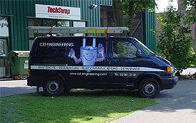 camionnette électricien bruxelles