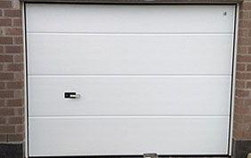 porte sectionnelle PVC