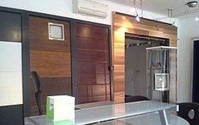 porte intérieure design bois