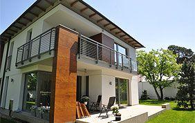 balcon en vitre et aluminium