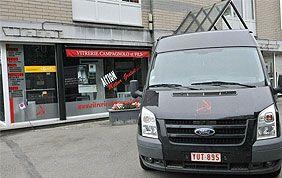 vitrine et camionnette Campagnolo