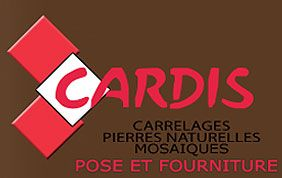 logo cardis carrelages pierres naturelles mosaïques pose et fourniture