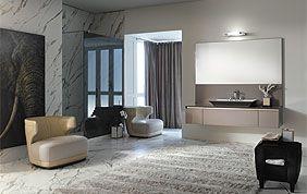 carrelage mural et sol imitation marbre pour salon