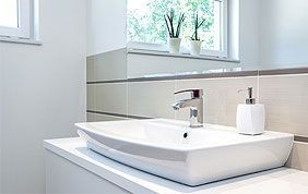 Pose de sanitaire design