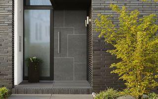 porte extérieure en aluminium