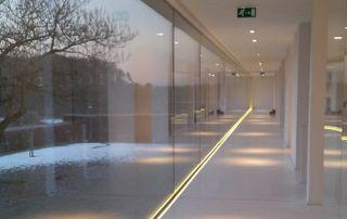 Surface vitrée