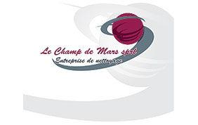 Logo société de nettoyage