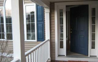 porte et fenêtres en bois