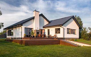 maison avec nouvelles menuiseries extérieures