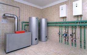 nouvelles installations : chaudière et boiler