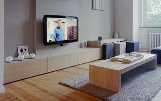 plancher en bois salon