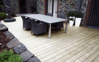parquet de terrasse en bois