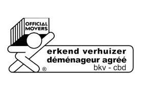 Logo des déménageurs agréés