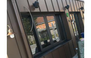 vitres nettoyées