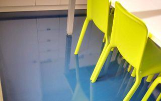 nettoyage sol salle de classe