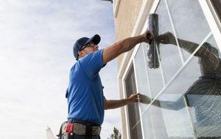 Lavage de vitre extérieure