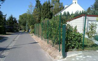 clôture métallique à Mons