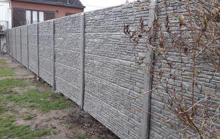 clôture en gabions