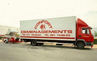 transport par Déménagement Confort